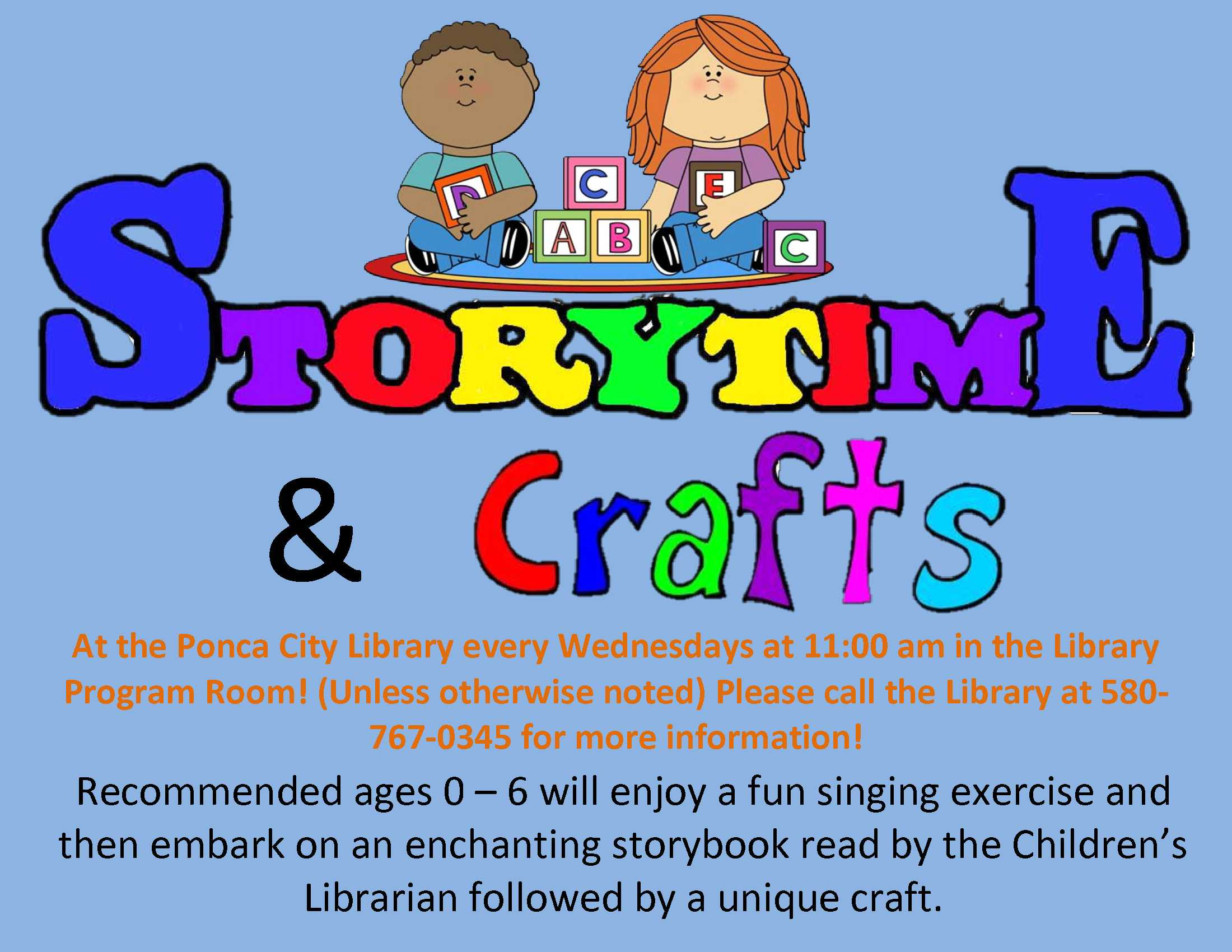 Storytime and craft