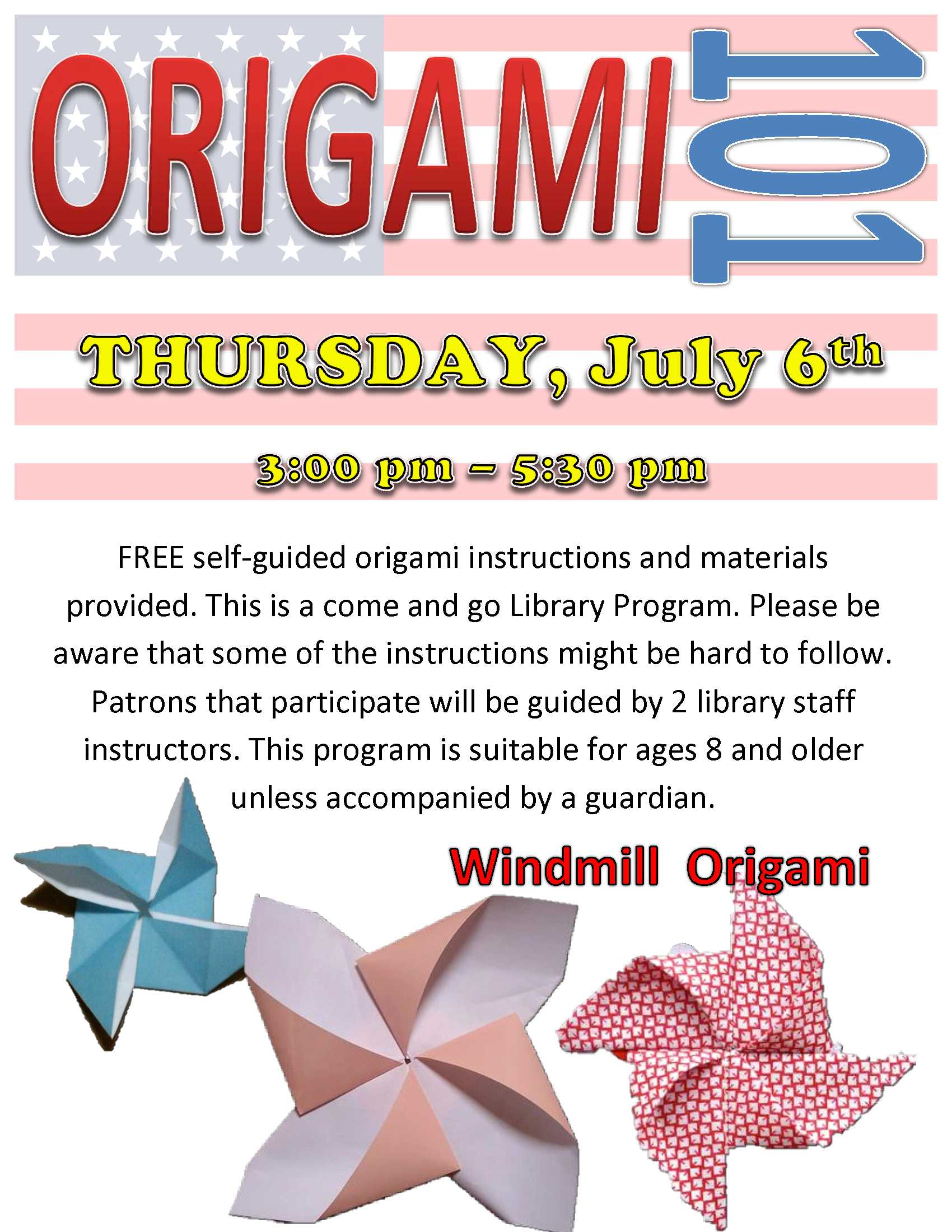 July Origami