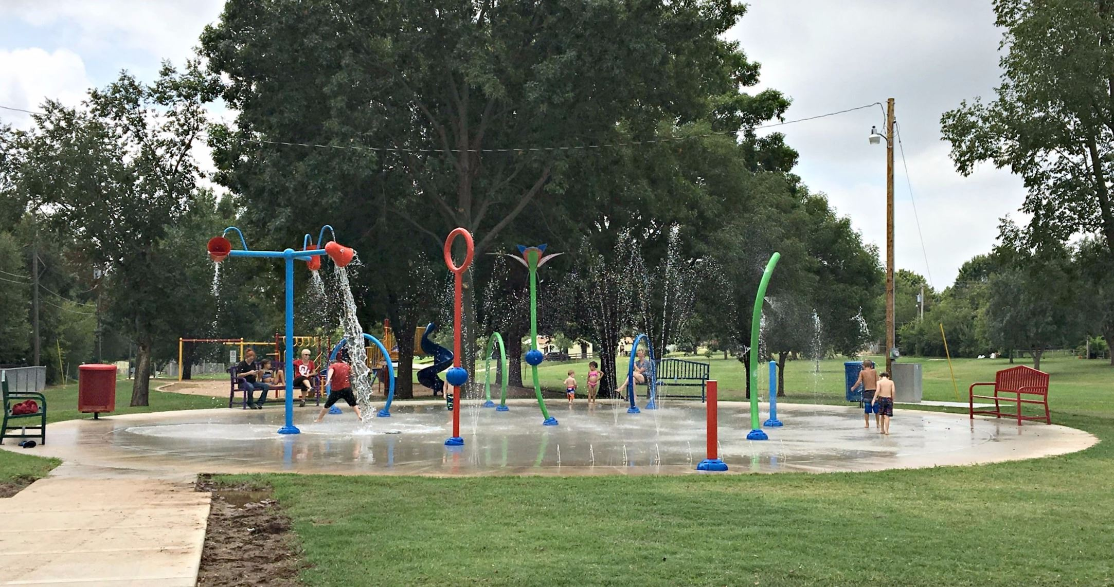 Young Park Splash Pad