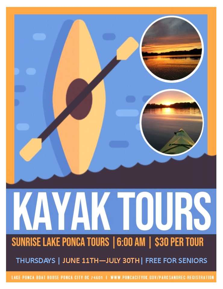 KAYAK TOURS SUMMER 2020